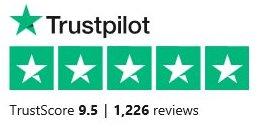 White Pharmacy Trustpilot rating